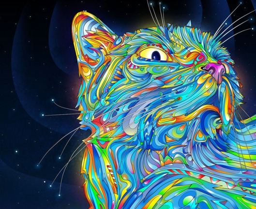 psychodelic-cat
