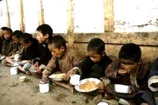 Starving Children in North Korea