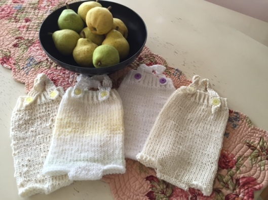 Onesies Hand Knit by Sandra Ronca Alias Slouchybee on Ravelry